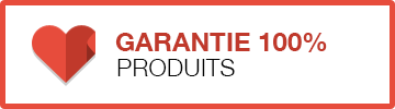 Garantie 100% produits