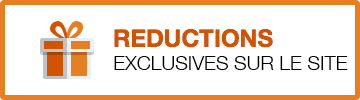 Reductions exclusives sur le site