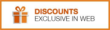 Exclusive web discounts